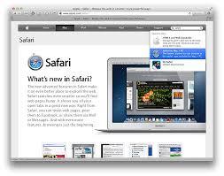 Safari,ダウンロード