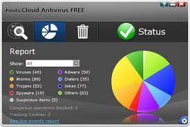 Panda Cloud Antivirus,ウイルス 対策,フリーソフト