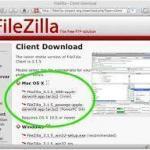 FileZilla,FTP ソフト,ダウンロード