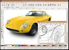 「Inkscape」ベクター形式の画像編集ソフト