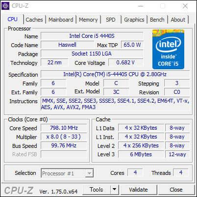 CPU-Z,CPU,メモリ・マザーボード