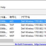 WirelessKey View,Wi-Fi,パスワード