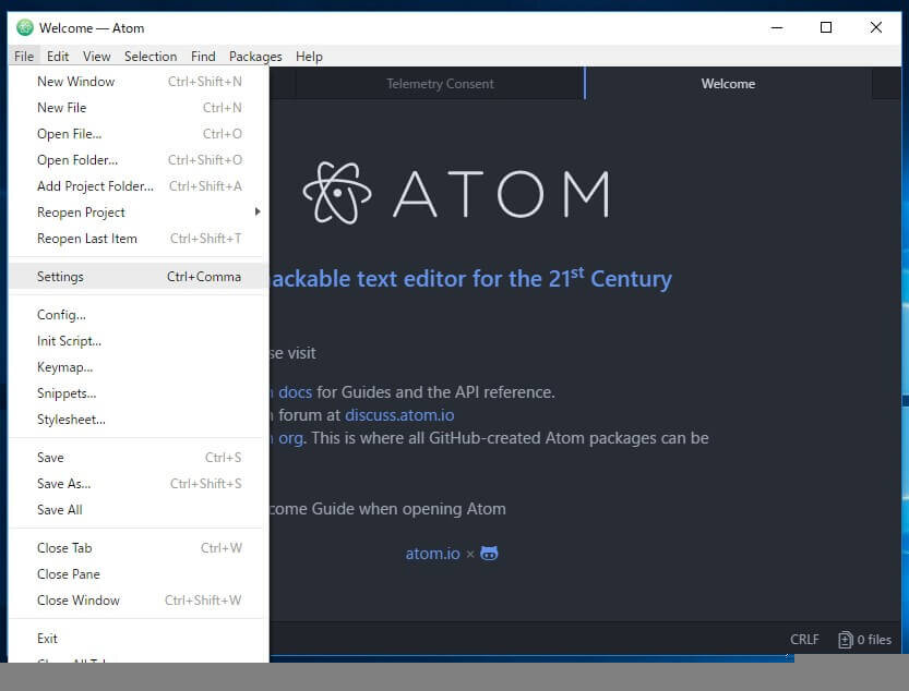 atom:初心者におすすめのテキストエディタの使い方
