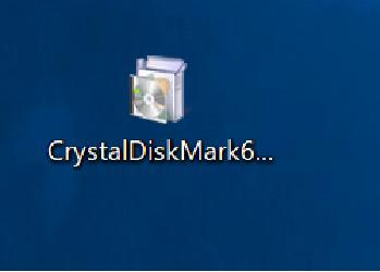 CrystalDiskMark インストール
