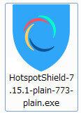 Hotspot Shieldインストーラー
