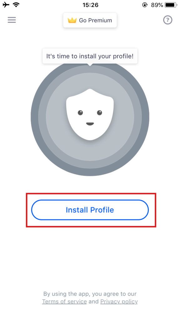 Betternet Install Profile