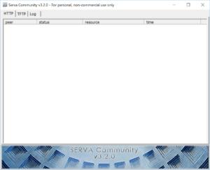 Serva,サーバーソフト,USB