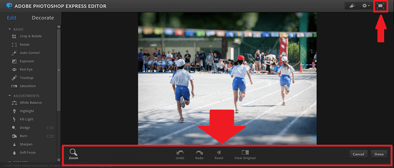 エディター画面の操作方法