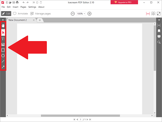 PDFファイルの編集①