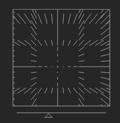ズームのシェイプの説明図